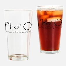 Pho Q Drinking Glass