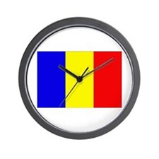 Unique Chad flag Wall Clock