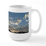 Beautiful Psalm 23 Large Mug
