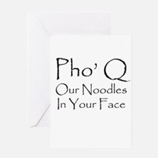 Pho Q Greeting Cards