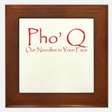 Pho Q Framed Tile