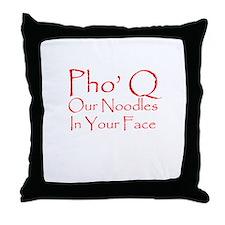 Pho Q Throw Pillow