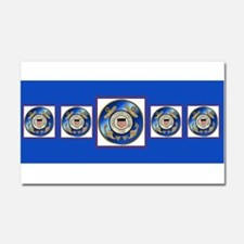 CoastGuardScarf2 Car Magnet 20 x 12