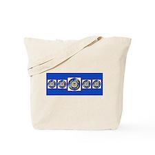 CoastGuardScarf2 Tote Bag