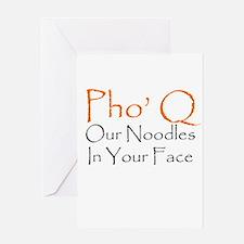 Pho Q Greeting Cards
