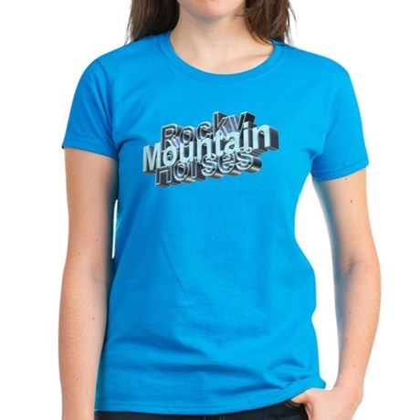 Rocky Mountain Horses Women's Dark T-Shirt