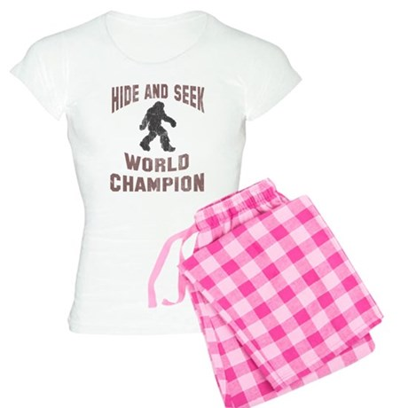 Bigfoot Hide and Seek Women's Light Pajamas