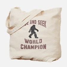Bigfoot Hide and Seek Tote Bag