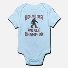 Bigfoot Hide and Seek Infant Bodysuit