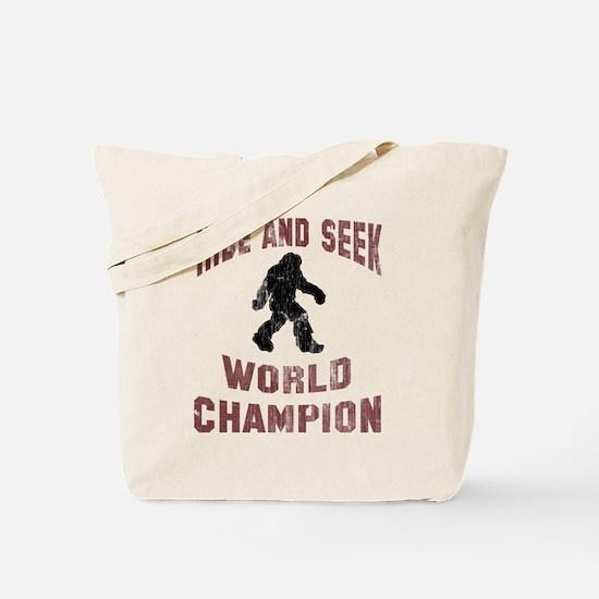 Bigfoot Hide and Seek Tote Bag