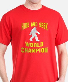 Bigfoot Hide and Seek T-Shirt