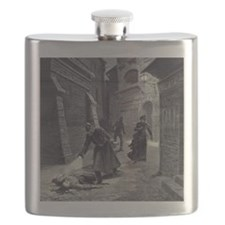 Jack The Ripper Flask