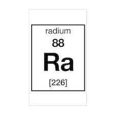 Radium Rectangle Decal