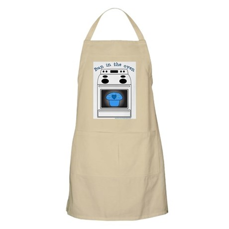 """Bun in the oven"" BBQ Apron"