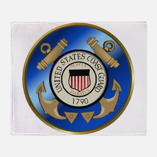CoastGuard2.png Throw Blanket
