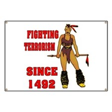 Fighting Terrorism Since 1492 Banner