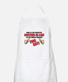 GREATEST BROTHER-IN-LAW Apron