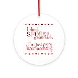 Grandma Round Ornaments