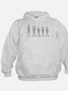 Super Family 3 Boys Hoodie