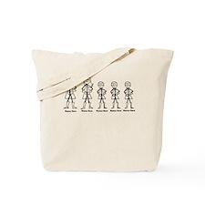 Super Family 3 Boys Tote Bag