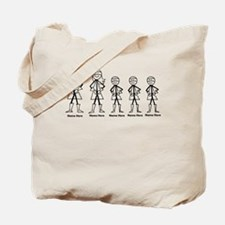 Super Family 3 Boys Tote Bag