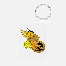 Viking Warrior & Shield Keychains