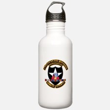 Army - 2nd ID w Afghan Svc Water Bottle
