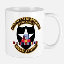 Army - 2nd ID w Afghan Svc Mug