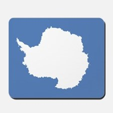 Antarctic flag Mousepad