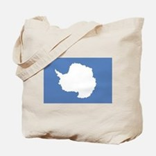 Antarctic flag Tote Bag