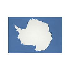 Antarctic flag Rectangle Magnet