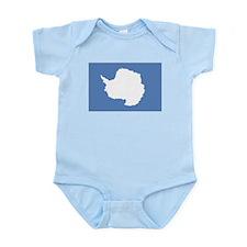 Antarctic flag Infant Bodysuit