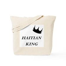 Haitian King Tote Bag