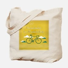 Homeschooling Wonderful Ride Tote Bag