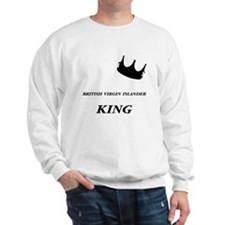 British Virgin Islander King Sweatshirt
