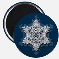 Lacy Snowflake Magnets