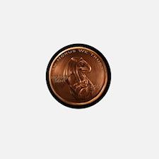 Horus Heathen Cent Mini Button