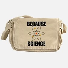 Because Science Messenger Bag