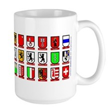 Switzerland: Heraldic Mug of the Cantons Mugs