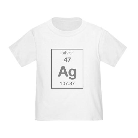 Silver Toddler T-Shirt
