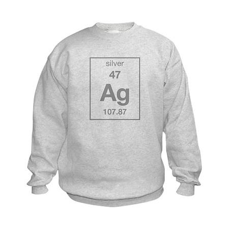 Silver Kids Sweatshirt
