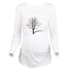 t-shirt gift tree si Long Sleeve Maternity T-Shirt