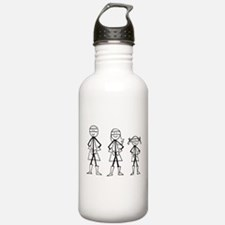 Super Family 1 Girl Water Bottle
