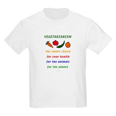 Vegetarian Kids Light T-Shirt