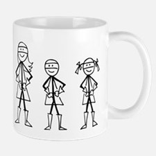 Super Family 1 Boy 1 Girl Mug