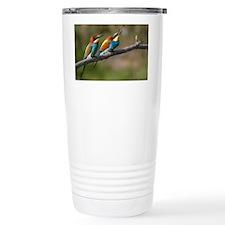 Pair European Bee-eater Travel Mug