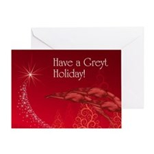 Have A Greyt Holiday Greeting Card