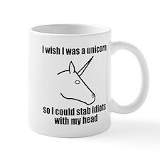 I Wish I Was A Unicorn Mugs