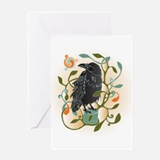 Celtic Crow Greeting Cards