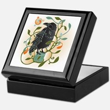 Celtic Crow Keepsake Box